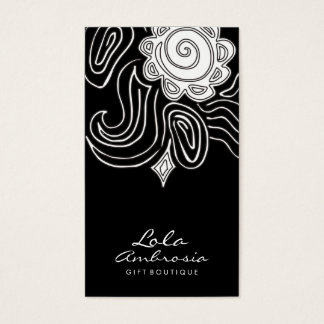 311 Ambrosia Swirl Midnight Business Card