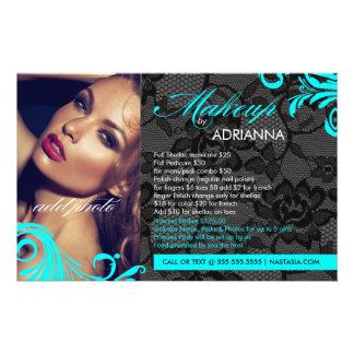 311 Aqua & Lace Makeup By Flyer