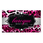 311 Baroque Boutique Hot Pink Leopard Pack Of Standard Business Cards