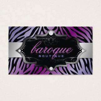 311 Baroque Boutique Purple Flirt Zebra