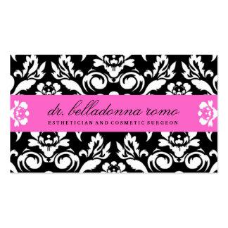 311 Belladonna Damask Pink Business Cards