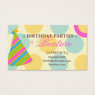 311-BIRTHDAY PARTY PLANNER PINK