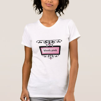 311 Blush Pink Damask Shimmer T-shirt