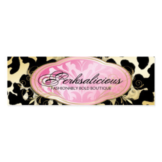 311 Bodacious Boutique Golden Leopard Spots Pack Of Skinny Business Cards