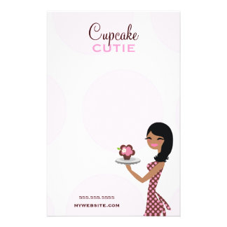 311 Candie the Cupcake Cutie Wavy Ethnic 14 Cm X 21.5 Cm Flyer
