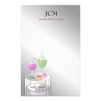 311-Candy Caterer | Stationary Stationery