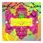 311 Candy Wonderland Pink Sweet 16 13 Cm X 13 Cm Square Invitation Card
