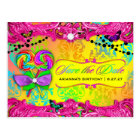 311 CANDY Wonderland Pink Sweet 16 Save the Date Postcard