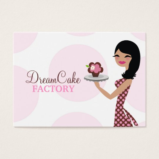311 Carlie the Cupcake Cutie Apron Business Card