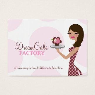 311 Carlie the Cupcake Cutie Brunette BusinessCard Business Card
