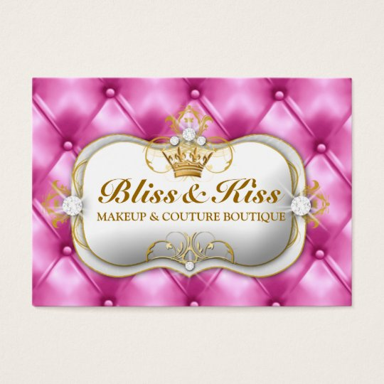 311 Ciao Bella Bliss Pink Tuft Business Card