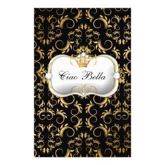 311 Ciao Bella Golden Divine Rich Black Personalized Flyer