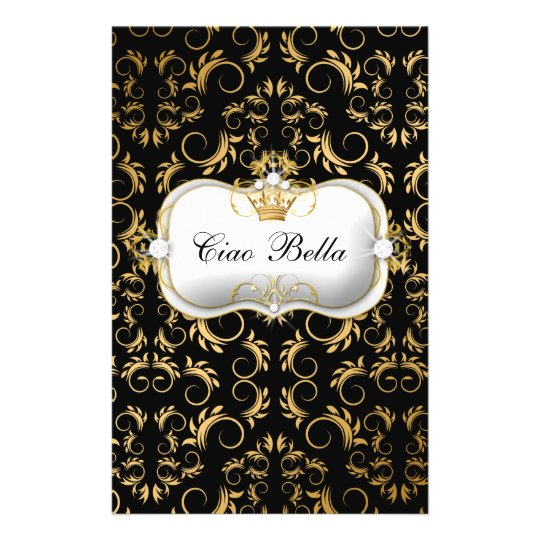 311 Ciao Bella Golden Divine Rich Black Flyer