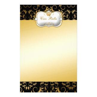 311 Ciao Bella Golden Divine Rich Stationery Design