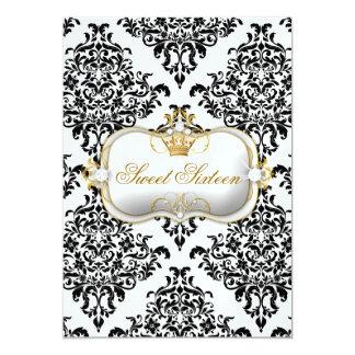 311 Ciao Bella & Lovey Dovey Damask Ice 13 Cm X 18 Cm Invitation Card