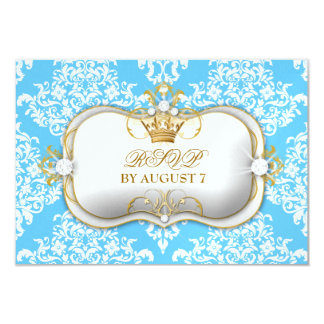 311 Ciao Bella & Lovey Dovey Damask Snow 9 Cm X 13 Cm Invitation Card