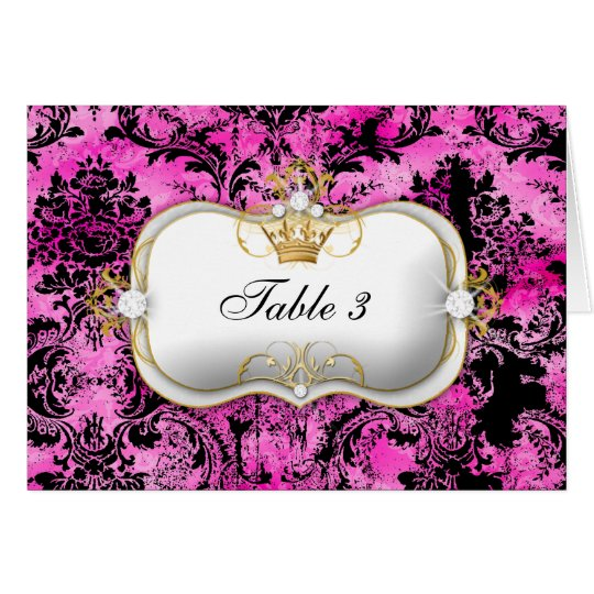 311 Ciao Bella Pink Liquorice Vintage Chic Card
