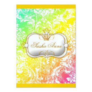 """311 Ciao Bella """"Tropical Dream"""" Vintage Chic 13 Cm X 18 Cm Invitation Card"""