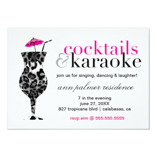 311 Cocktails & Karaoke Card