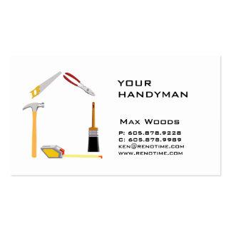 311 Construction Contractor Handyman Business Card