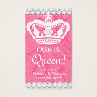 311 Crown Couture Diamonds Business Card