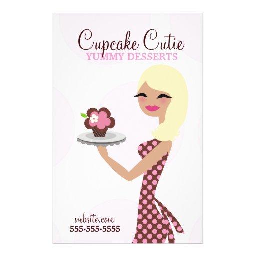 311 Cupcake Cutie Blonde Custom Flyer