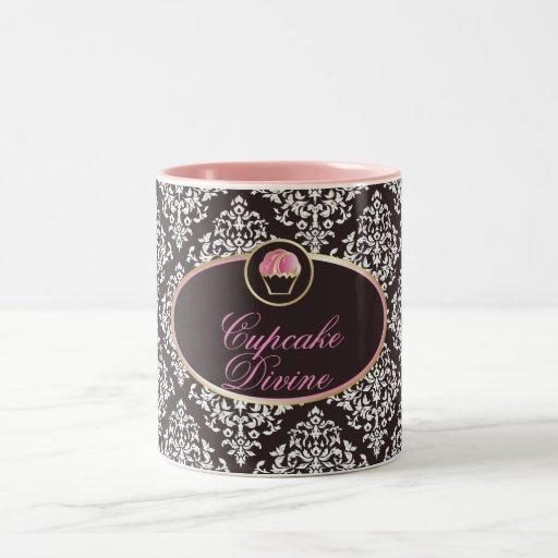311-Cupcake Divine Solid Coffee Mug