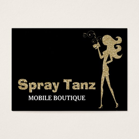 311 Custom Spray Tanz Business Card