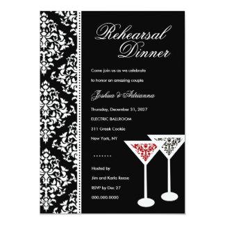 311-Damask Glass Invitation