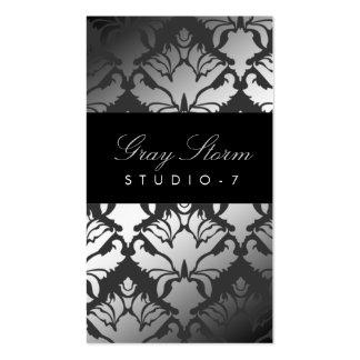 311 Damask Shimmer Gray Storm Pack Of Standard Business Cards