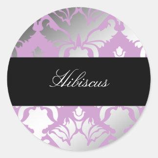 311-Damask Shimmer Lilac Sticker
