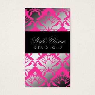 311 Damask Shimmer Pink Flame Plain Back