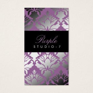 311 Damask Shimmer Purple Plush