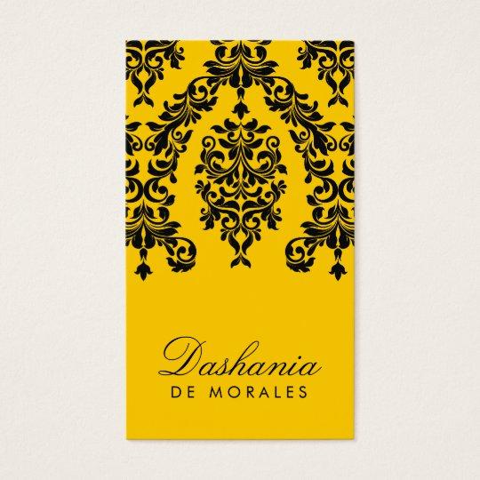 311-Dashing Damask | Bee Business Card