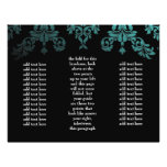 311 Dashing Damask Sea Garden at Night Brochure Personalized Flyer
