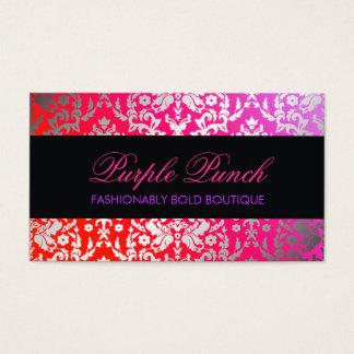 311 Dazzling Damask Purple Punch