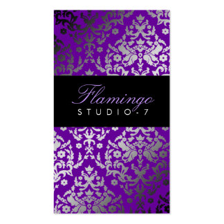 311-Dazzling Damask Vivacious Violet Pack Of Standard Business Cards