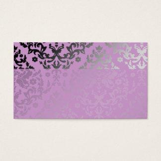 311-Dazzling Damask Wild Purple Name Card