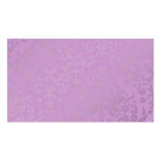 311-Dazzling Damask Wild Purple Name Card Business Card Templates