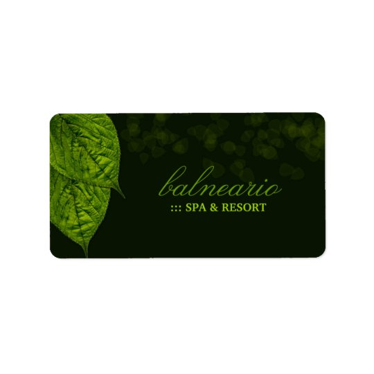 311-Dream Leaf Gift Sticker / Label Address Label