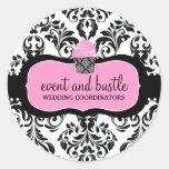 311 Event & Bustle Cupcake Round Sticker