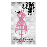 311 Fabulously French Wire Dress Form Business Card