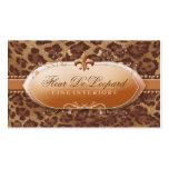 311 Fleur De Leopard Pack Of Standard Business Cards