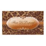 311 Fleur De Leopard with Diamonds Pack Of Standard Business Cards
