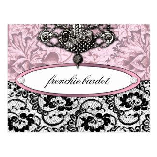 311 Frenchie Budoir Postcard