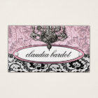 311 Frenchie Budoir | Vintage Pink Business Card