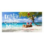 311-FUN-ky Merry Christmas Custom Photo Customized Photo Card