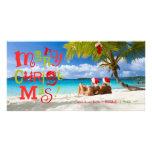 311-FUN-ky Merry Christmas Custom Photo Personalized Photo Card