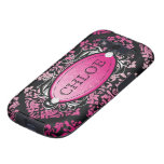 311 Galaxy Luxuriously Pink Damask Galaxy S3 Cases