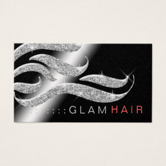 311 Glam Hair Appointment Card Metallic Paper